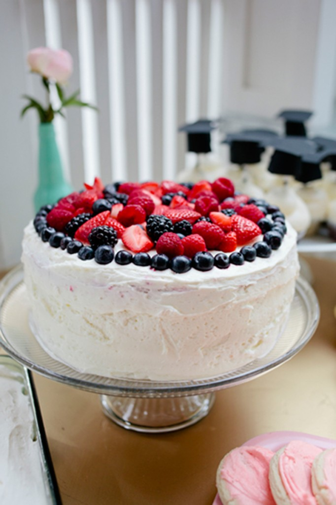 Whole Foods Berry Cake