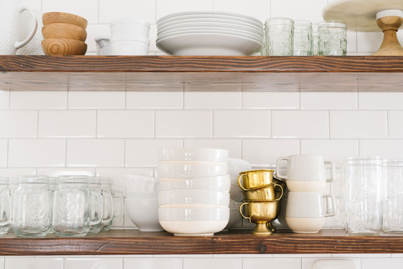 miko bowen kitchen home shelves